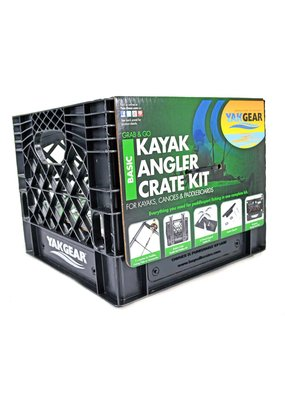 YAKGEAR YakGear Grab & Go Basic Kayak Angler Crate Kit
