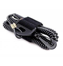 YAKGEAR YakGear CPL24 Rod/Paddle Leash, Rubber, Black, 60 inch
