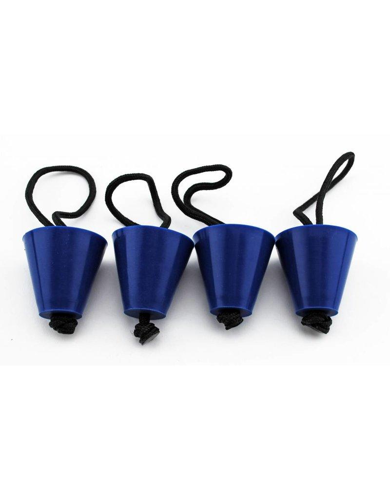 YAKGEAR Yak Gear Universal Scupper Plug Kit Blue