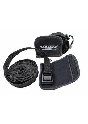 YAKGEAR YakGear TDSTP1 Tie Down Straps, Nylon, Black