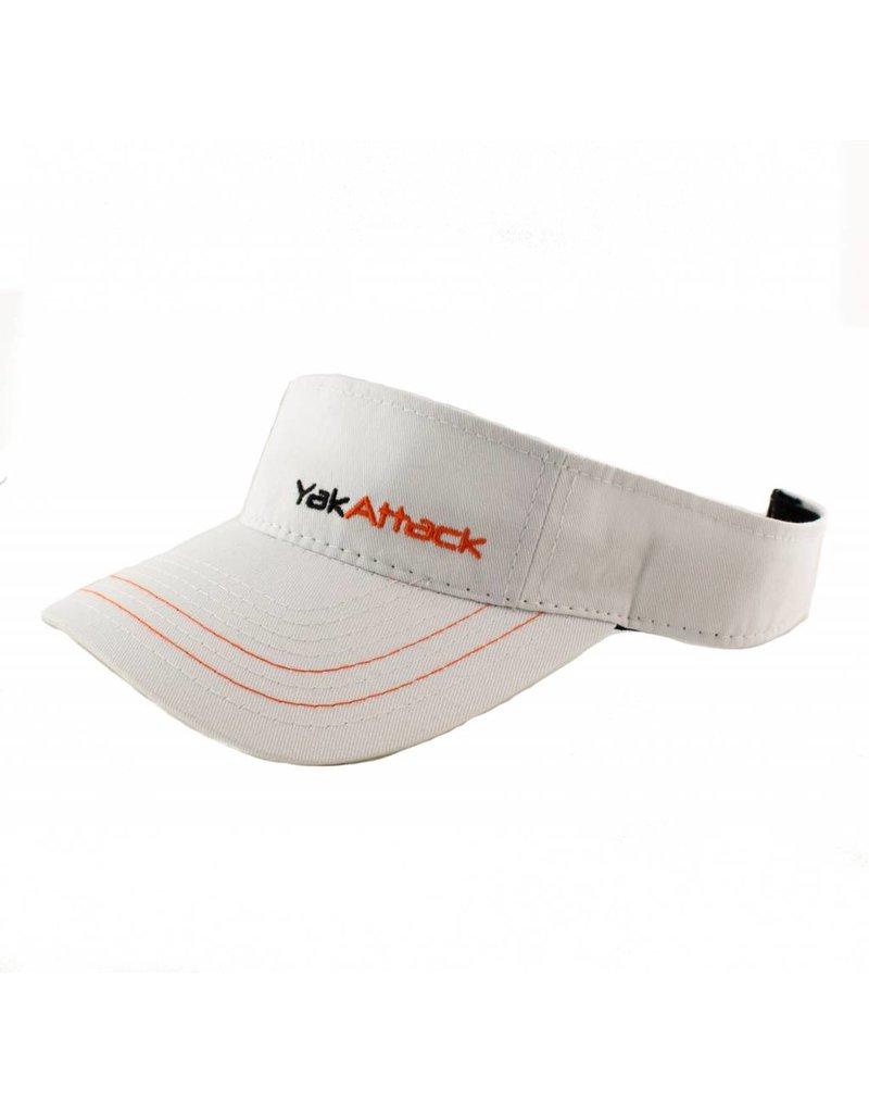 YAKATTACK YakAttack Adjustable Visor White