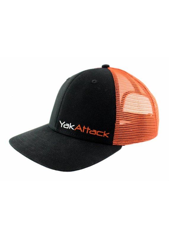 YAKATTACK YakAttack Trucker Hat Black/Orange