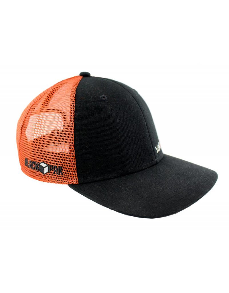 YAKATTACK YakAttack Trucker Hat Black/Orange