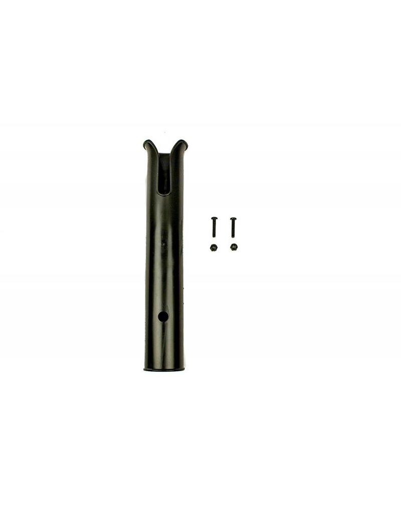 YAKATTACK Side Mount Rod Tube, Black, Includes SS Hardware