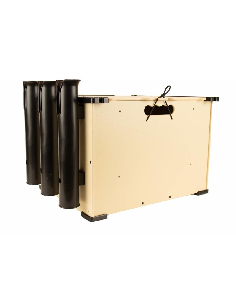 YAKATTACK YakAttack BlackPak Kayak Fishing Crate Tan
