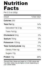 Bonk Breaker, Cookies and Cream Protein Bar