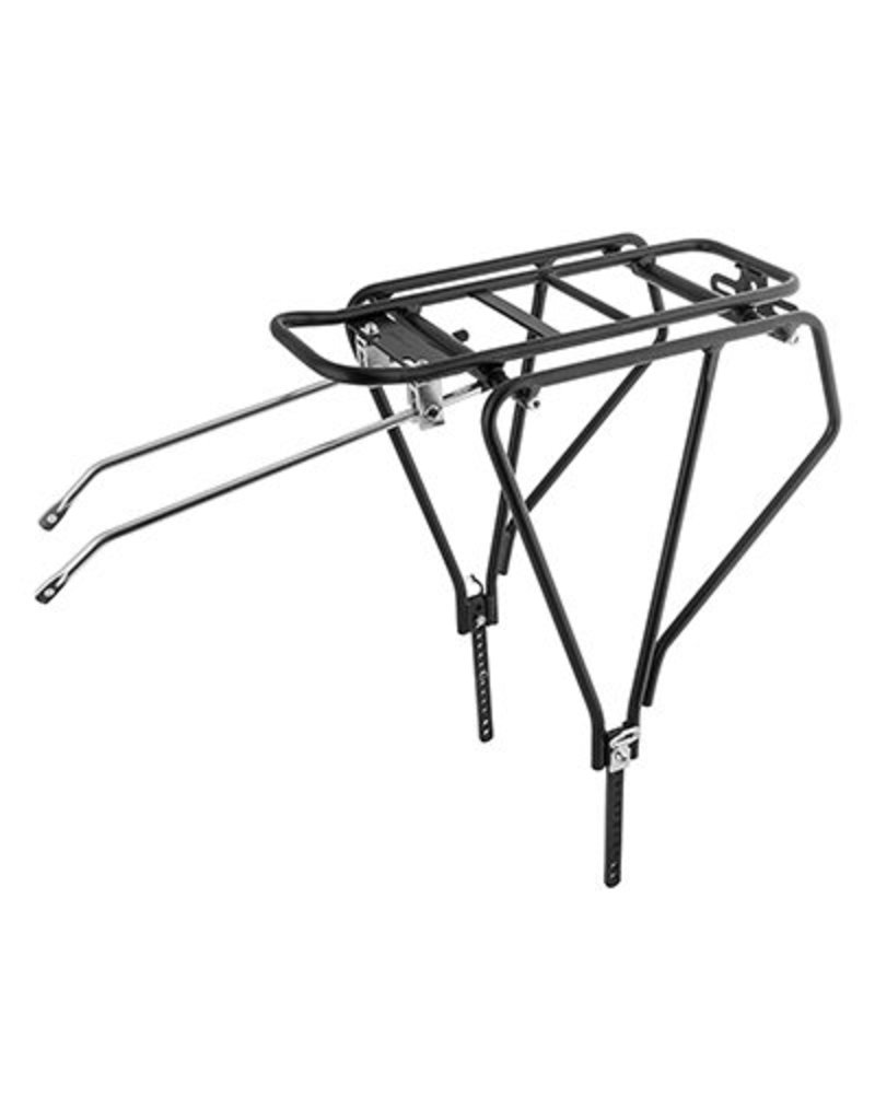 "SUNLITE SunLite Bike Rack Multi-Fit Black 26"" to 29"" Diameter 1-4 inch Width Tire"