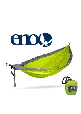 ENO Eno Double Nest LED Hammock Neon/Grey