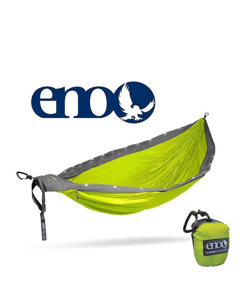 ENO Eno Double Nest LED Hammock Neon/Grey
