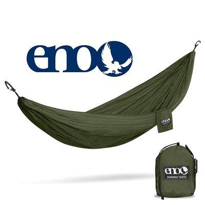 ENO Eno Double Nest Hammock Olive