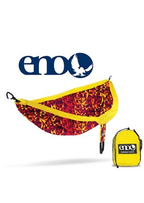 ENO ENO Double Nest Print Hammock Geo/Red
