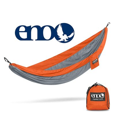 ENO ENO Singlenest Hammock Orange/Grey