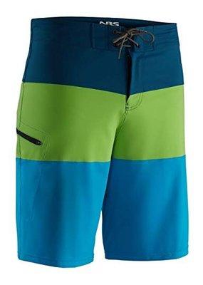 NRS Benny Board Shorts Blue/Grey Size 38