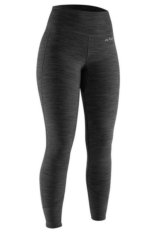 NRS Women's HydroSkin 0.5 Pants Charcoal Heather Size L