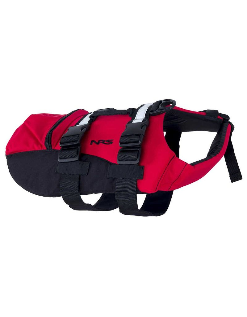 NRS CFD Dog Life Jacket Red XS