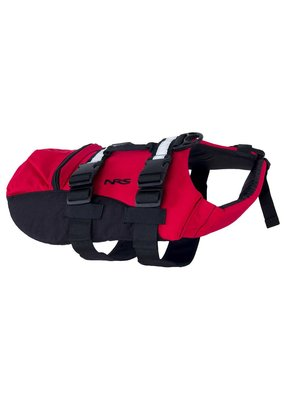 NRS CFD Dog Life Jacket Red L