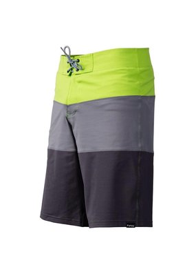 NRS Benny Board Shorts Grey/Green Size 40