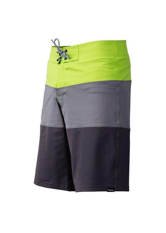 NRS Men's Benny Board Shorts Blue/Green Size 30