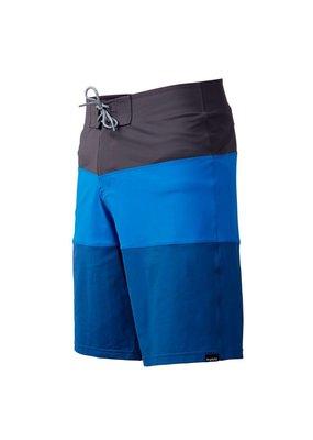 NRS Men's Benny Board Shorts Grey/Blue Size 32