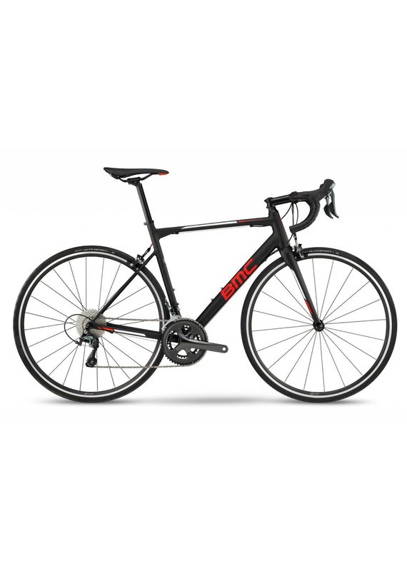BMC Teammachine ALR01 Three Road Bike 51 Tiagra Black White Red