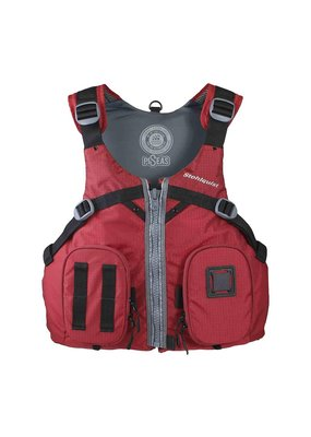 Stohlquist Stohlquist Piseas Mens Life Jacket Red Size SM/Med