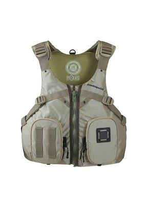 Stohlquist Stohlquist Piseas Mens Life Jacket Khaki Size SM/Med