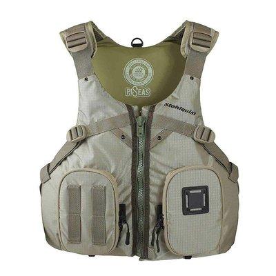 Stohlquist Stohlquist Piseas Mens Life Jacket Khaki Size Lg/XL