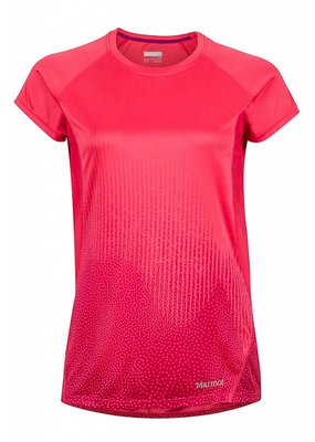 Marmot Marmot Womens Crystal SS Tee Hibiscus Fountain Size S