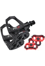 EXUSTAR Exustar PR2 Clipless Pedals For Road Bikes Resin Black Keo