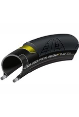 Continental Grand Prix 4000 S II 700 X 23 Black-BW + Black Chili