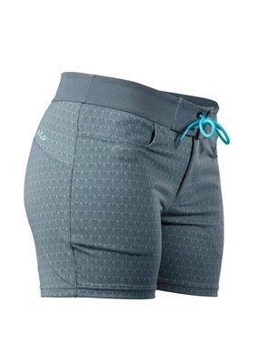 NRS Women's Beda Board Shorts Ash Grey Size 4