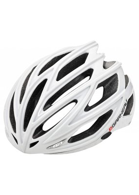 Louis Garneau WOMEN'S SHARP CYCLING HELMET WHITE/SILVER SM