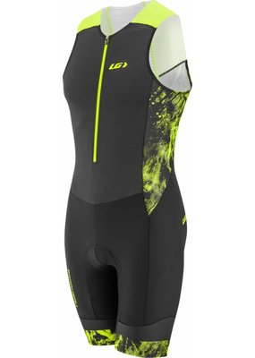 Louis Garneau PRO CARBON TRIATHLON SUIT BLACK/YELLOW XL