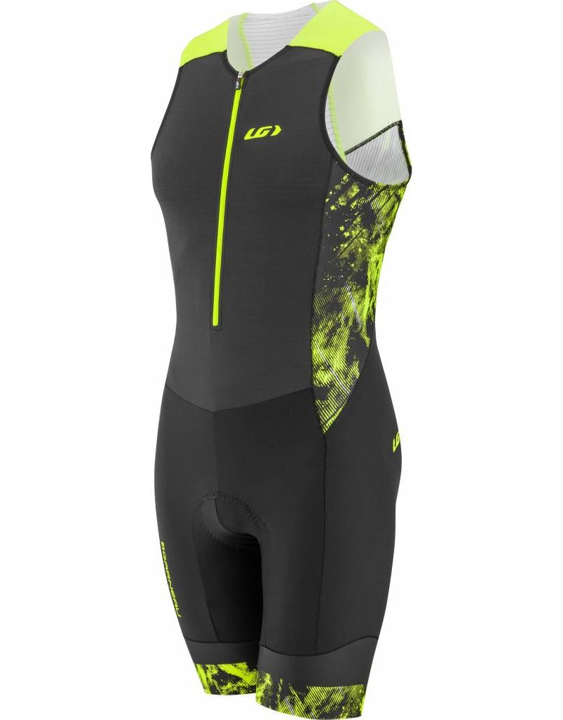 Louis Garneau Louis Garneau Pro Carbon Triathlon Suit Black/Yellow XL