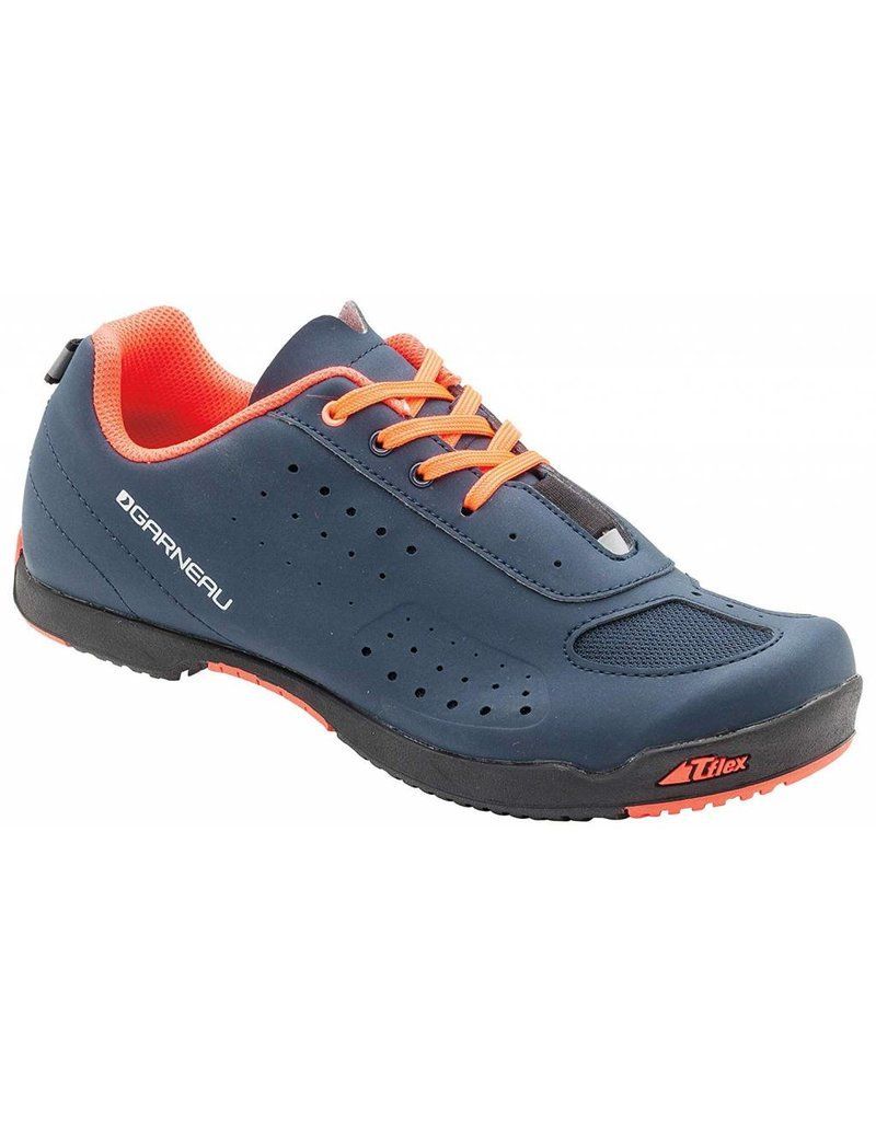 Louis Garneau Louis Garneau - Women's Urban Bike Shoes DARK NIGHT/CORAL MANIA 39