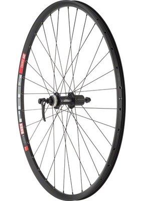 "Quality Wheels Mountain Disc Rear Wheel DT 533d Deore M610 29"" QR 135mm Black"