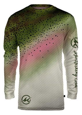 Mojo Mojo Wireman Long Sleeve Rainbow Trout Large