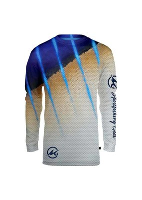 Mojo Mojo Wireman Long Sleeve Marlin XXL