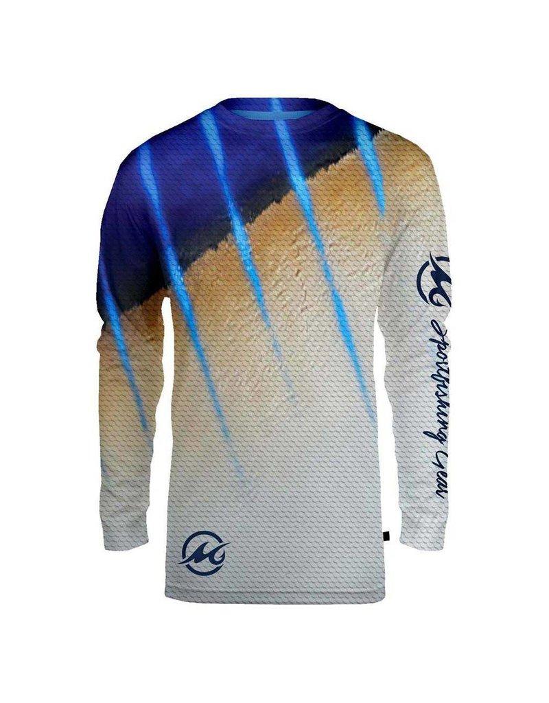 Mojo Mojo Wireman Long Sleeve Marlin XXL