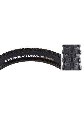 CST PREMIUM CST Premium ROCK HAWK 29x2.4 Black Black FOLD Dual Compound/Exception Puncture Safety/Tubeless Ready