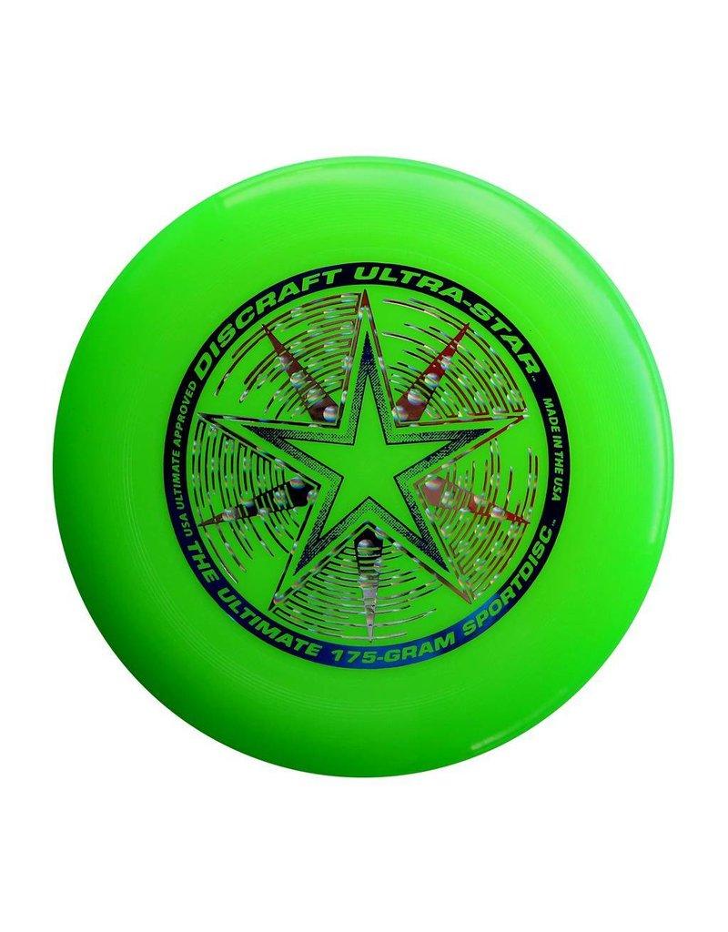 Discraft DISCRAFT ULTRA-STAR SPORTDISC-GREEN