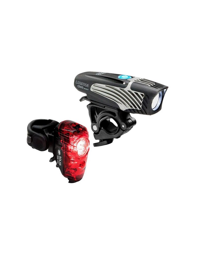 NITERIDER NiteRider Lumina 1200 Boost / Solas 250 Bicycle Light Combo