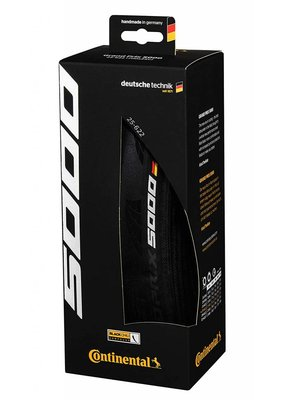 Continental Continental Grand Prix 5000 Tire - 700 x 25, Clincher, Folding, Black, 330tpi