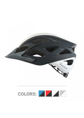 Freetown Freetown Mudbug Adult Helmet Wh/Bl Lg 58-62cm
