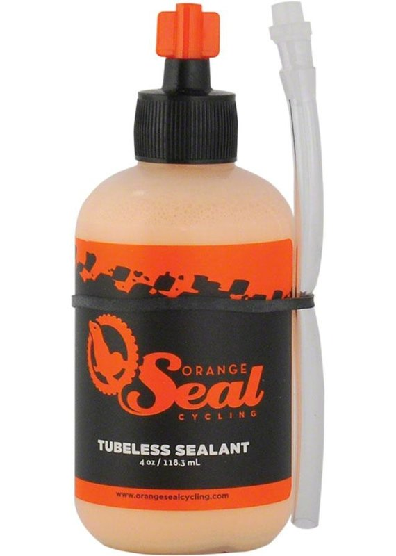 Orange Seal Tubeless Tire Sealant  4oz w/TwistLock