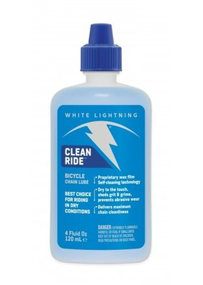 WHITE LIGHTNING BICYCLE LUBE White Lightening CLEAN RIDE WAX 4oz