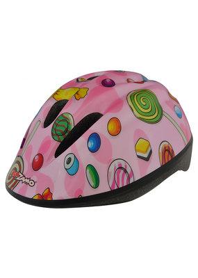 KIDZAMO KIDZAMO Bike Helmet SM-MD Candy Pink