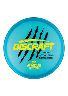 Discraft Paul McBeth 1st Run Z Zone Putt and Approach Disc