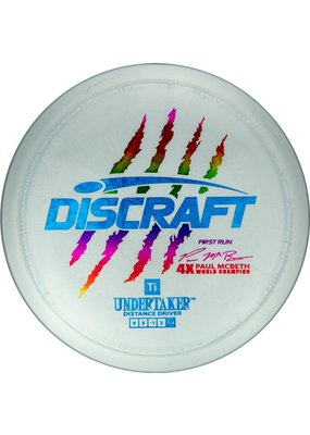 Discraft Paul McBeth 1st Run Ti Undertaker Distance Driver