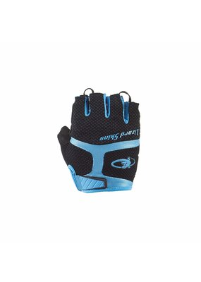 LIZARD SKINS Lizard Skins Aramus GC Gloves: Jet Black/Electric Blue XL